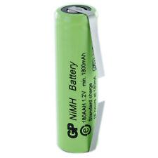 Batteria Ricaricabile Ni-Mh GP BATTERIES GP180AAH 1,2V 1800mAh con lamelle