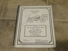 Terex HD850-HD1000-HD1200 Mini Volquete piezas Manual