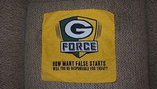 Green Bay Packers g force bandana