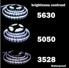 5M SMD RGB 5050/3528/5630 60LED/M 300LEDs Cold/Warm White Strip Light Waterproof