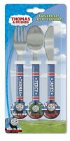 Thomas The Tank Engine PercyJames Childrens Metal 3 Piece Cutlery Set Ideal Gift