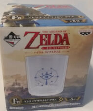 Legend Of Zelda Breath of the WIld Nintendo  Original Glass Rare