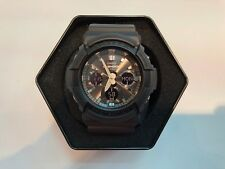 **BRAND NEW** CASIO G-SHOCK XL ANA-DIGI SOLAR DOUBLE LED BLACK GAS100B-1A NIB!