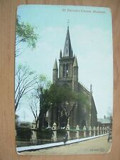 VINTAGE POSTCARD CANADA - ST PATRICK'S CHURCH MONTREAL Ref 2072