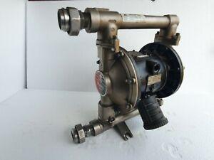 "Graco D74311 Husky 1040 Diaphragm Pump 1"" AODD pump Stainless Steel #2"