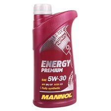5w-30 1 LITRI MANNOL ENERGY PREMIUM OLIO MOTORE BMW ll-04 MB 229.51 GM API dexos2