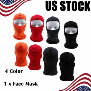 Full Face Racing Snowmobiling Motorcycle Head Sock Balaclava Headscarf Race