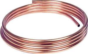 10mm Kupferrohr weich in Ringen a 1m,10 x 1,0 mm RAL/DVGW, DIN-EN 1057