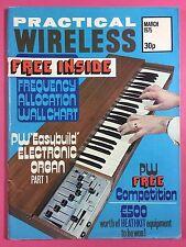 PRACTICAL WIRELESS Magazine - March 1975 - Pw Electronic Organ - Part 1