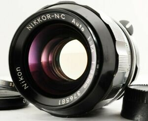 N.MINT Nikon Nikkor N.C Auto 35mm f1.4 F mount Non-Ai MF Wide Lens From JAPAN
