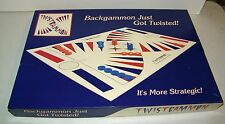 Twistgammon Backgammon with a Twist Family Board Game Unused Sealed Parts Bag