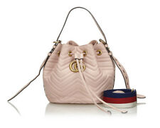 Gucci GG Marmont Bucket Bag Matelasse Leather Small