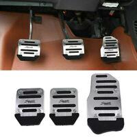 Universal Silver Non Slip Car Pedal Pad Cover Car Interior Decor Car Accessories