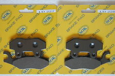 FRONT BRAKE PADS fit SUZUKI LT-R LTR 450 Quadracer, 06-14 LT-R450 LTR450
