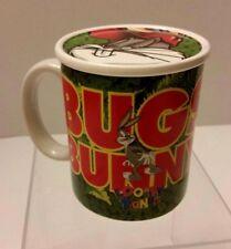 LOONEY TUNES BUGS BUNNY COFFEE TEA CUP MUG LID 1997 WARNER BROTHERS