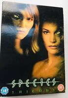 Species - Trilogy - 3 DVDs Box Set -PAL Region 2 - 2005