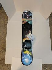 ESP 110 cm Freeride Snowboard, Adjustable Bindings-For Beginners & Experienced