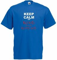 Keep Calm and Blood For The Blood God, Mens Printed T-Shirt