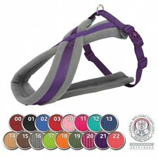 More details for trixie premium touring dog harness - adjustable strong soft fleece thick padding