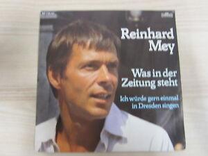 Single /  Reinhard Mey – Was In Der Zeitung Steht / 1983 / RAR /