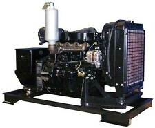 30KW Single Phase 120/240 V Mitsubishi Diesel Generator Set NEW Engine