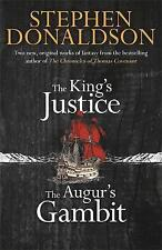 The King's Justice and The Augur's Gambit, Donaldson, Stephen, New condition, Bo