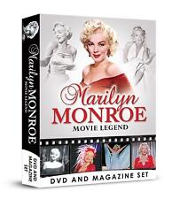 Marilyn Monroe Movie Legend DVD and Magazine / Book Gift Set
