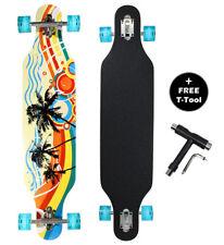 DRAYCO 42 Inch Maple Drop Through Deck Complete Longboard Skateboard Cruiser