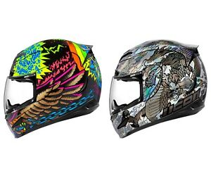 2020 Icon Airmada TL Full Face DOT Motorcycle Helmet - Pick Size / Color