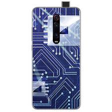 Funda Gel Tpu para Xiaomi Mi 9T / Mi 9T Pro diseño Circuito Dibujos