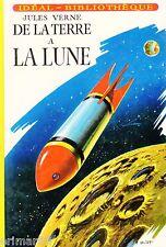 De la Terre à la Lune // Jules VERNE // Idéal - Bibliothèque