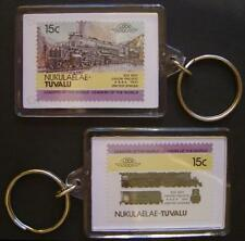 1941 Union Pacific (UP) BIG BOY 4-8-8-4 Train Stamp Keyring (Loco 100)