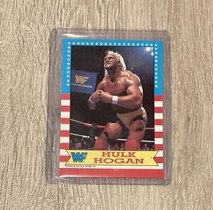WWF 1987 Topps Hulk Hogan Card Vintage WWE