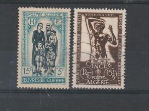 Algeria - 1955/56 SG357,359 USED semi postal stamps