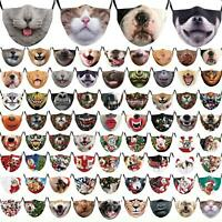 Animal Face Masks Mask Pig/Lion/Tiger/Pug/Border Collie/Dog Novelty