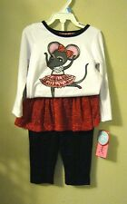 Ballerina mouse tutu pants set new 22nd Street outfit 18 mons Infant  dancing