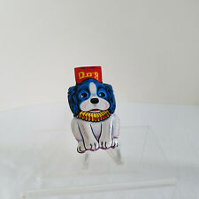 Adorable Vintage Original Tin Dog Noise Maker Clicker Japan Not reproduction