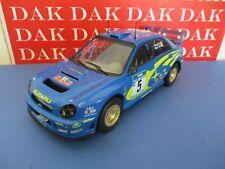 Die cast 1/18 Modellino Auto Subaru Impreza WRC Rally New Zealand 2001 R.Burns