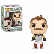 Funko Pop Games Hello Neighbor 265 The Neighbor with Apron and Cleaver Exclusive