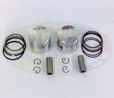 Piston & Rings Set Twin Cylinder Air Cooled 244FMI for Chinese Lifan 125