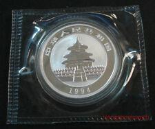 1994 China 1/2oz panda silver coin