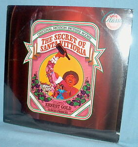 LP FACTORY SEALED Soundtrack THE SECRET OF SANTA VITTORIA Ernest Gold