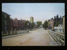 POSTCARD B41-3 LEICESTERSHIRE MELTON MOWBRAY - BURTON STREE EARLY 1900'S