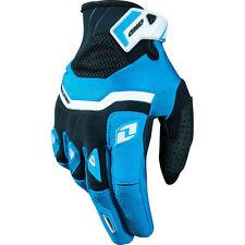 New One Industries Armada gloves 9 Medium  MX ATV Dual Sport cyan/black glove