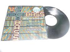 """MEGABASS - Time To Make The Floor Burn - 1990 UK 3-track 12"""" vinyl single"""