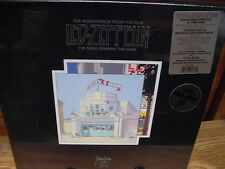 LED ZEPPELIN SONG REMAINS THE SAME BOX SET 4 LP'S 1/2 SPEED MASTERED + BOOK