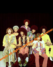 SLY AND THE FAMILY STONE JUST IN 8 BY 10.  NEW SIZE  2  INSTOCK SLY STONE