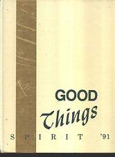 Bradenton FL Saint Stephen's Episcopal High School yearbook 1991 Florida