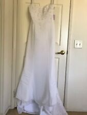 NWT Alfred Angelo Wedding Dress, Size 10