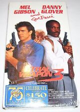 Lethal Weapon 3 (VHS, 1992) Mel Gibson and Danny Glover, NEW and SEALED!